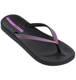 Ipanema Anatomic Lovely zwart paars slippers dames