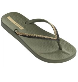 Ipanema Anatomic Lovely groen goud slippers dames