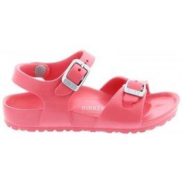 Birkenstock Rio Eva coral slippers meisjes
