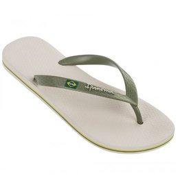 Ipanema Classic Brasil beige groen slippers heren