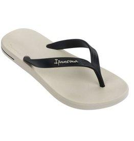 Ipanema Posto 10 beige zwart slippers heren
