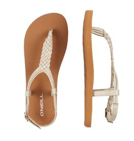 O'Neill FM Braided Ditsy Plus crème sandalen dames