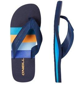 O'Neill FM Imprint Pattern blauw slippers heren