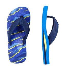 O'Neill FM Imprint Pattern blauw slippers kids
