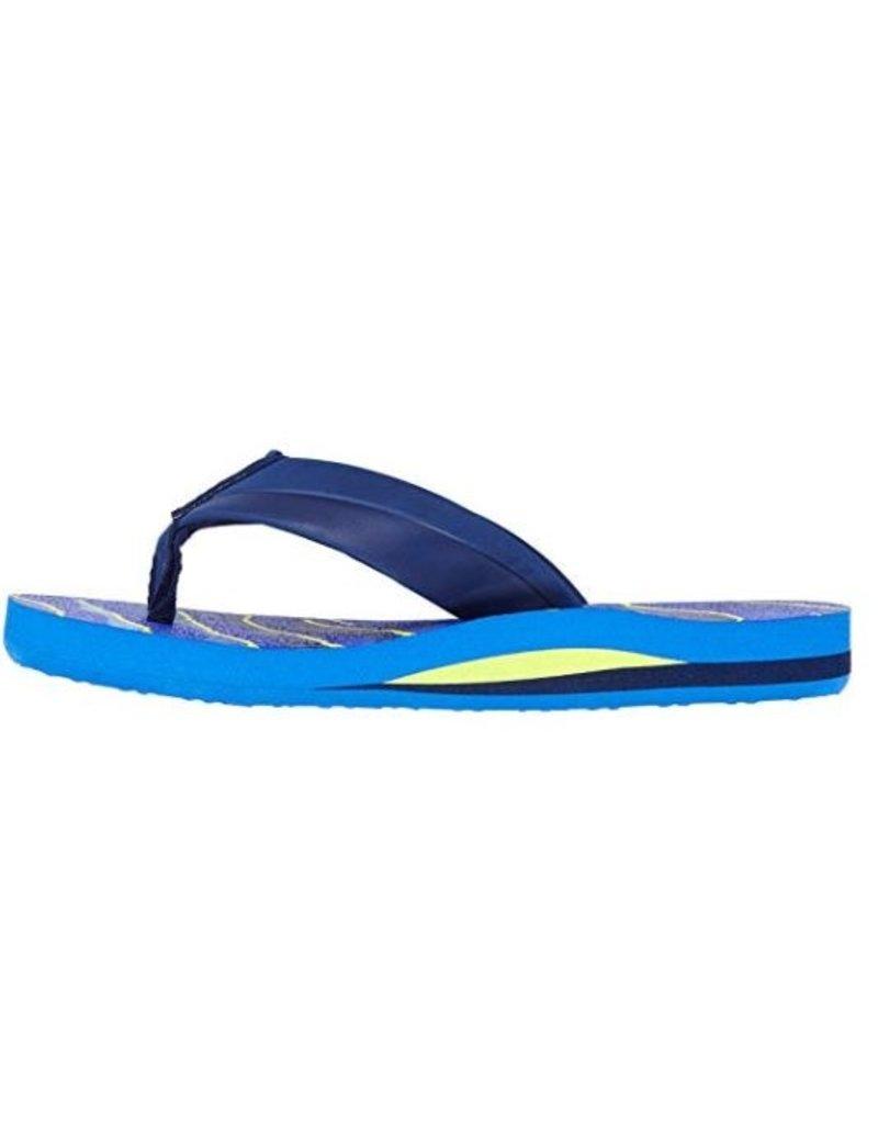 O'Neill O'Neill FM Imprint Pattern blauw slippers kids