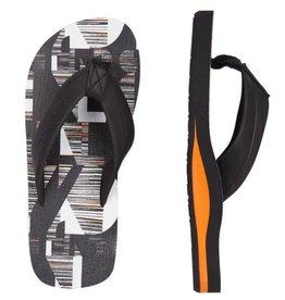 O'Neill FM Imprint Pattern zwart slippers kids