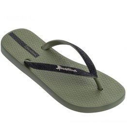 Ipanema Lolita groen slippers meisjes