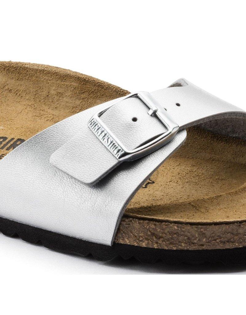 Birkenstock Birkenstock Madrid silver sandalen dames