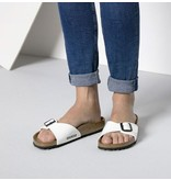 Birkenstock Birkenstock Madrid  Patent wit narrow sandalen dames