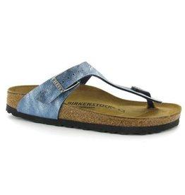 Birkenstock Gizeh used jeans narrow sandalen kids