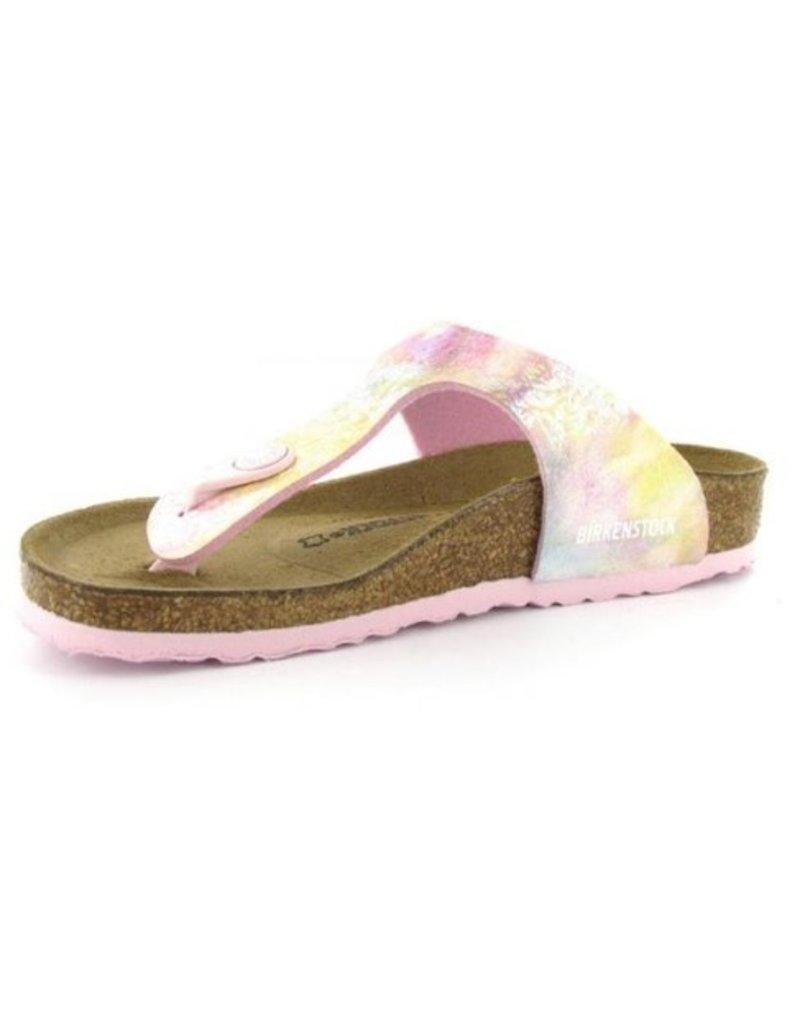 Birkenstock Birkenstock Gizeh narrow roze multi sandalen meisjes