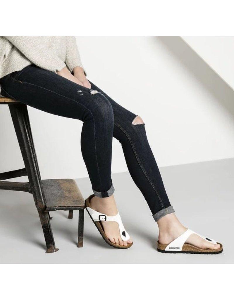 Birkenstock Birkenstock Gizeh Patent wit lak sandalen dames
