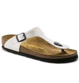 Birkenstock Gizeh Patent wit lak sandalen dames