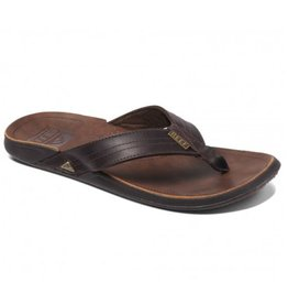 Reef J-Bay III donkerbruin slippers heren