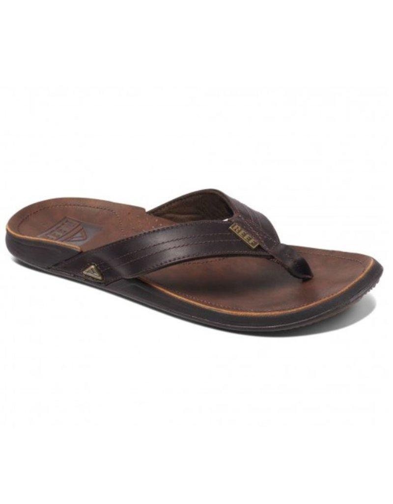 Reef Reef J-Bay III donkerbruin slippers heren