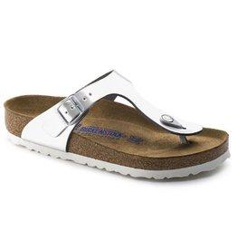 Birkenstock Gizeh Metallic zilver regular sandalen dames (S)