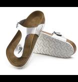 Birkenstock Birkenstock Gizeh Metallic zilver regular sandalen dames (S)