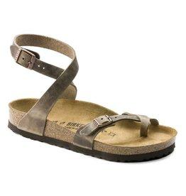 Birkenstock Yara Tabacco bruin Regular sandalen dames (S)