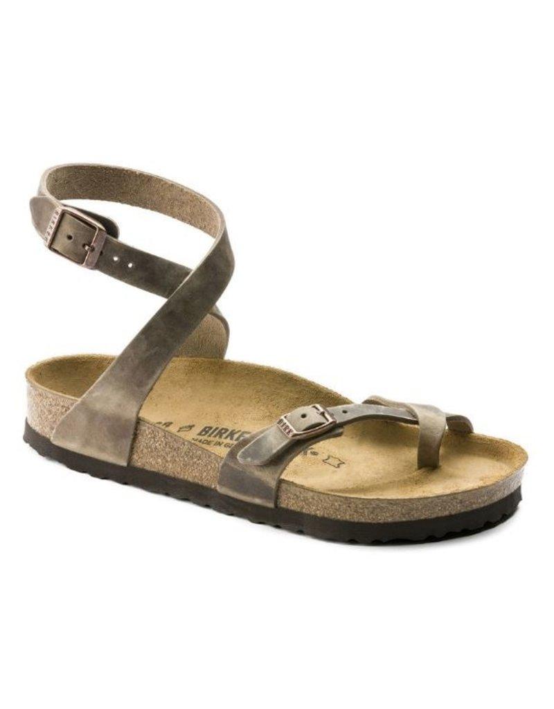 Birkenstock Birkenstock Yara Tabacco bruin Regular sandalen dames (S)