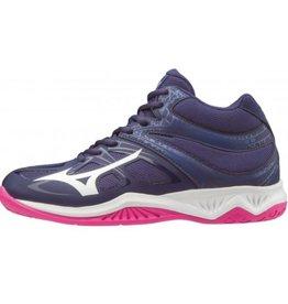Mizuno Thunder Blade Mid 2 blauw korfbalschoenen dames