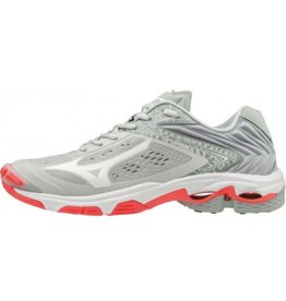 Mizuno Wave Lightning Z5 grijs volleybalschoenen dames