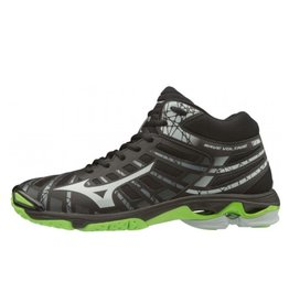 Mizuno Wave Voltage Mid zwart volleybalschoenen unisex