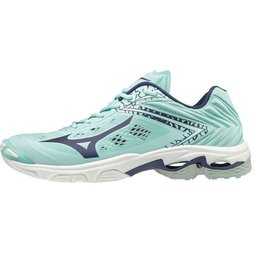 Mizuno Wave Lightning Z5 lichtblauw volleybalschoenen dames