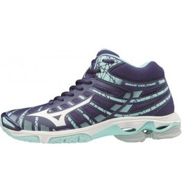Mizuno Wave Voltage Mid donkerblauw volleybalschoenen unisex