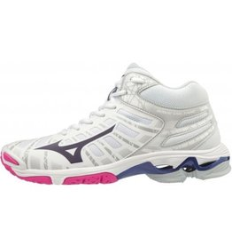 Mizuno Wave Voltage Mid wit volleybalschoenen unisex