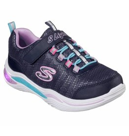 Skechers Power Petals donkerblauw sneakers kids