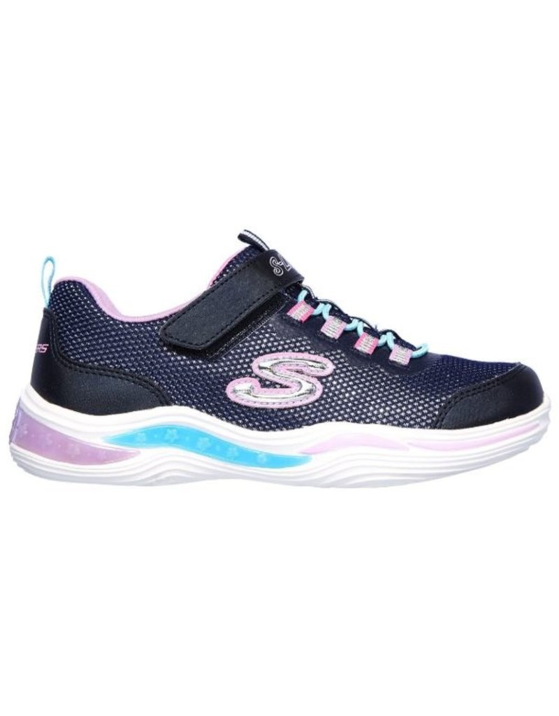 Skechers Skechers Power Petals donkerblauw sneakers kids