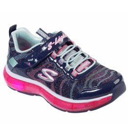 Skechers Light Sparks donkerblauw sneakers kids
