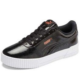 Puma Carina Patina lak zwart sneakers dames