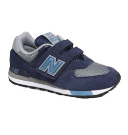 New Balance IV574FND blauw sneakers baby