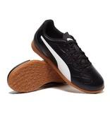 Puma Puma Monarch IT Jr zwart wit indoor voetbalschoenen kids