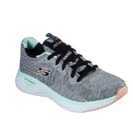 Skechers Solar Fuse-Brisk Escape grijs sneakers dames