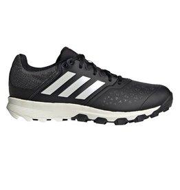 Adidas Flexcloud zwart wit hockeyschoenen uni