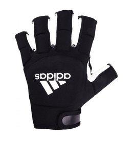 Adidas HKY od glove zwart wit hockeyhandschoen uni