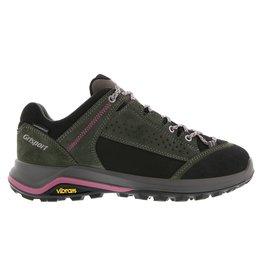 Grisport Siena Low groen roze wandelschoenen dames