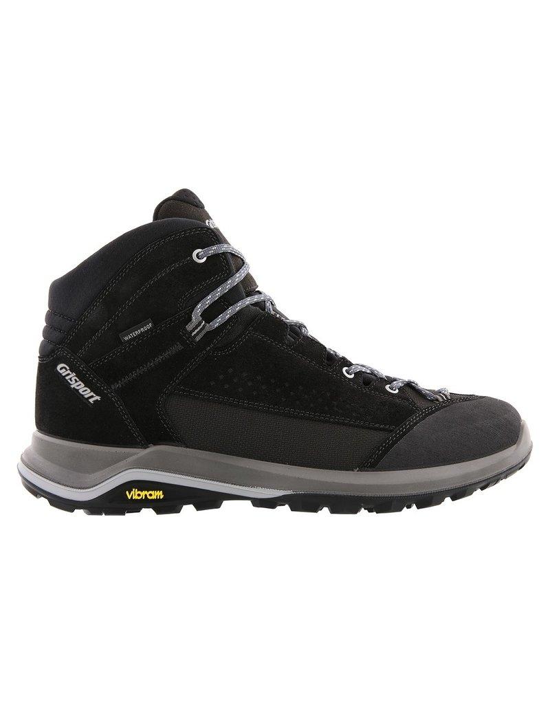 Grisport Grisport Siena Mid zwart wandelschoenen heren
