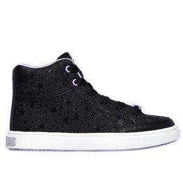 Skechers Shoutouts Glitz Stars Squad zwart sneakers meisjes
