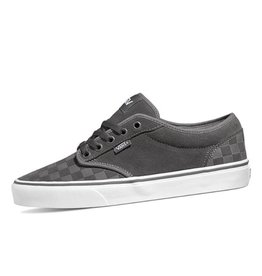 Vans MN Atwood checkerboard grijs sneakers heren