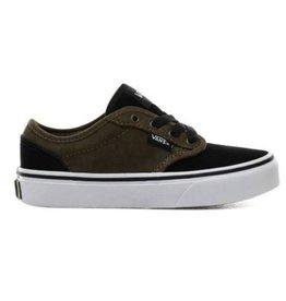 Vans YT Atwood zwart groen sneakers kids