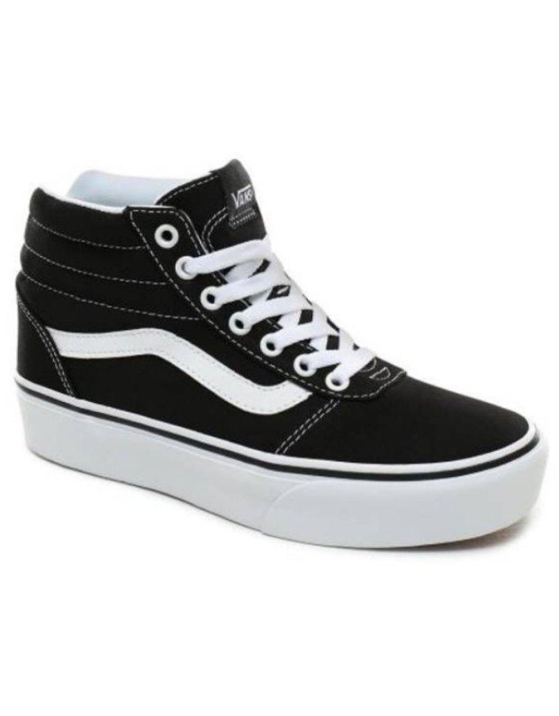 Vans Vans WM Ward HI Platform zwart sneakers dames