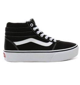 Vans WM Ward HI Platform zwart sneakers dames