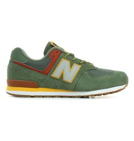 New Balance GC574PAD groen sneakers kids