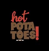 Hot Potatoes Hot Potatoes HP 57007 grijs roze pantoffels dames