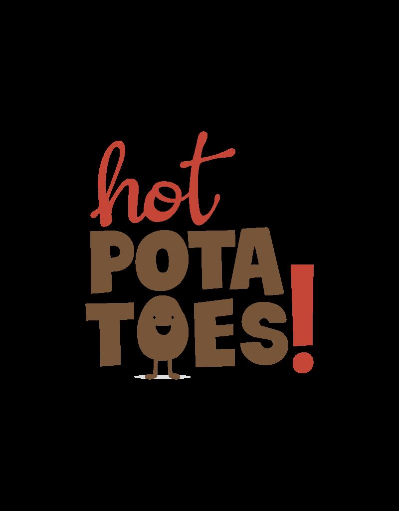 Hot Potatoes Hot Potatoes HP 57019 luipaard pantoffels dames