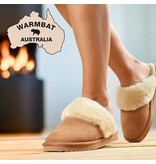 Warmbat Warmbat Alice Suede bruin pantoffels dames