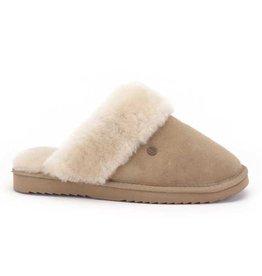 Warmbat Flurry Suède ecru pantoffels dames
